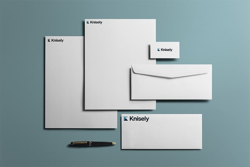 Knisely Law stationery